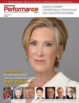 Carly Fiorina Edition - PERFORMANCE/P360 MAGAZINE - Vol 31 No.2