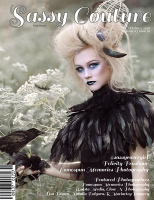 Sassy Couture Magazine Dark Beauty October Issue