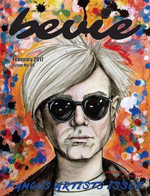 "Bevie Magazine: ""Famous Artists"""