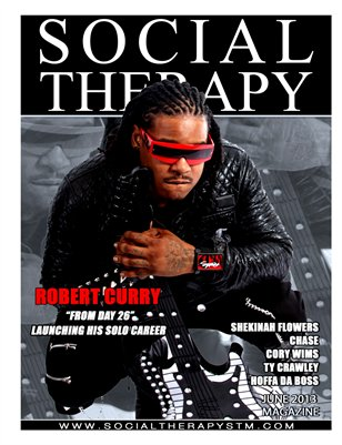 Social Therapy Magazine June issue Features Robert Curry