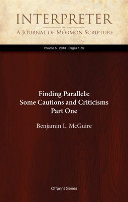 Finding Parallels: Some Cautions and Criticisms, Part One