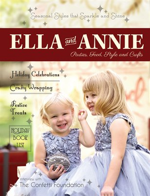 Ella and Annie Magazine Holiday 2014