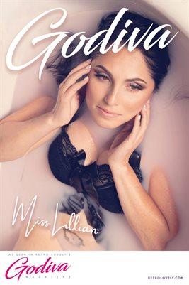 GODIVA No.19 – Miss Lillian Cover Poster