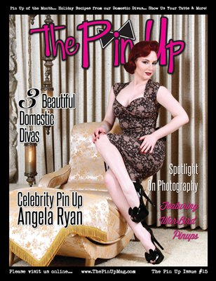 "The Pin Up ""Angela Ryan"" Issue 15"