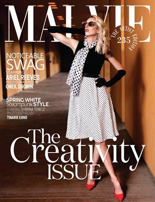 MALVIE Magazine The Artist Edition Vol 235 June 2021