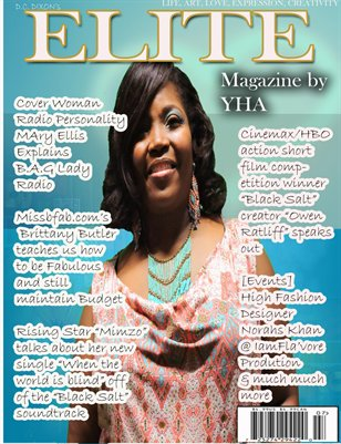 D.C Dixon's Elite Magazine by Y.H.A (B.A.G Lady Radio Edition)