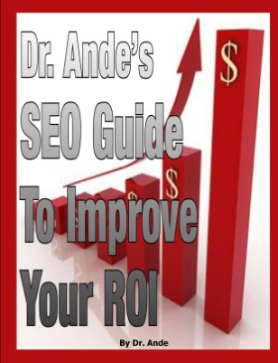Dr. Ande's SEO Tips to Improve ROI