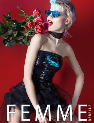 Femme Rebelle Magazine MARCH 2018 - BOOK 1 - Tracey Lea Cover
