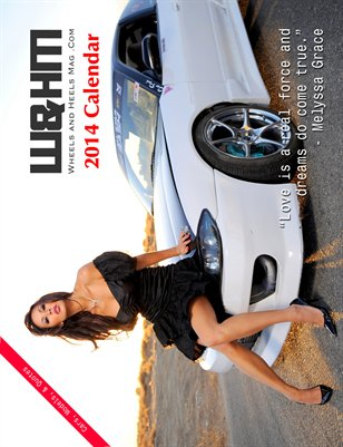 Wheels and Heels Magazine 2014 Calendar