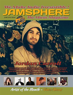 Jamsphere Indie Music Magazine June 2016