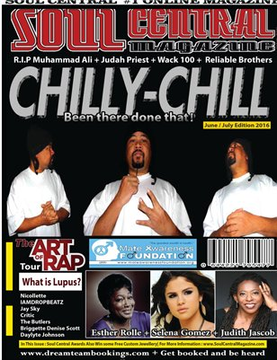 Soul Central Magazine June /July edition 2016