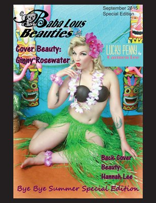 Baba Lous Beauties- Bye Bye Summer Special Edition: September 2015
