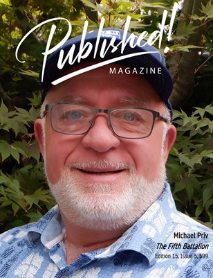 PUBLISHED! #15 Excerpt featuring Michael Priv!