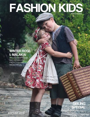 Fashion Kids Magazine | SIBLING SPECIAL AUGUST