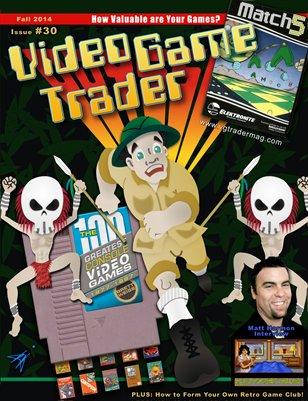 Video Game Trader Magazine #30 (Fall 2014) - Version B