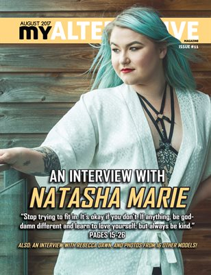 MyAlternative Magazine Issue 11 August 2017