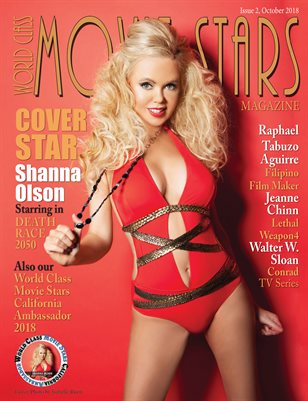 World Class Movie Stars Magazine Issue 2 with Shanna Olson