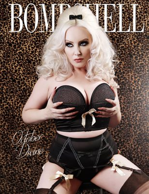 BOMBSHELL Magazine December 2017 - October Divine Cover
