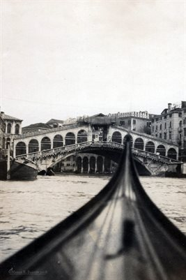The Rialto Bridge, Venice: 1920s Holy Land Series