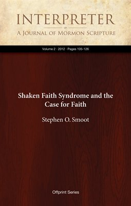 Shaken Faith Syndrome and the Case for Faith
