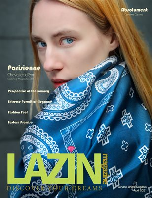 Lazin Magazine Parisienne April 2021