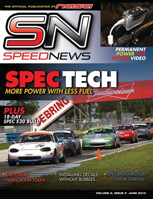 Speed News Magazine June 2013