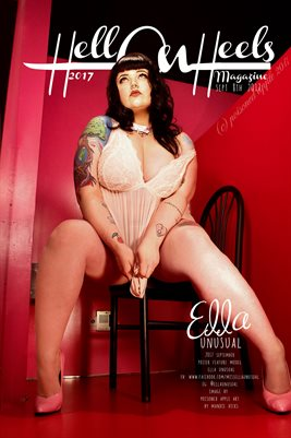 Hell On Heels Magazine 2017 September 8th Poster Feature Ella Unusual