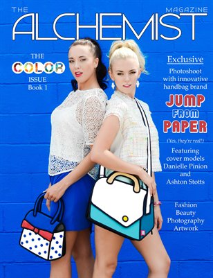 The Alchemist Magazine - Color Issue - Book 1 Cover A