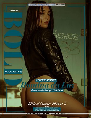 BOLD Magazine (End of SUMMER 2020) Part Two