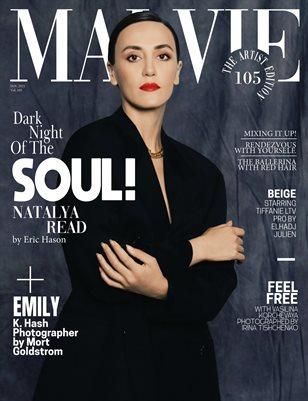 MALVIE Magazine The Artist Edition Vol 105 January 2021