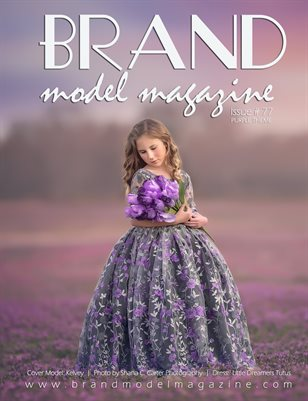 Brand Model Magazine  Issue # 77, PURPLE