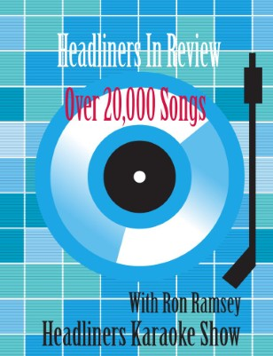 Headliners Karaoke Song Book