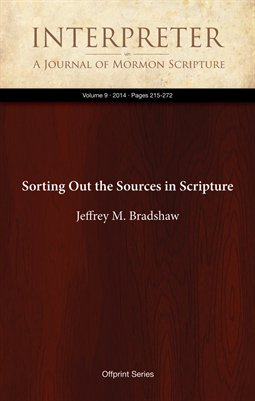 Sorting Out the Sources in Scripture