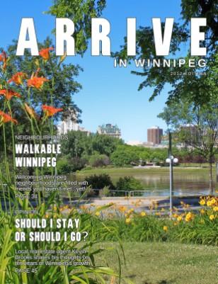 Arrive in Winnipeg 2012
