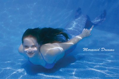 Macie Mermaid Dreams Poster
