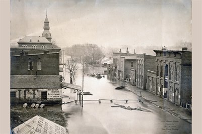 1884 FLOOD IN PADUCAH KENTUCKY