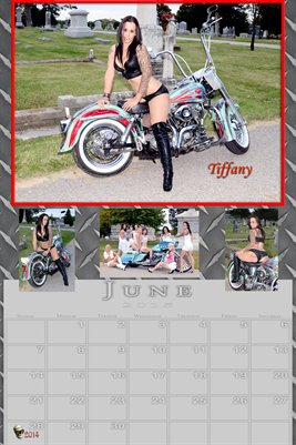 Tiffany Miss June 2015 poster