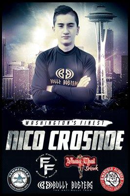 Nico Crosnoe Washington's Finest - Poster