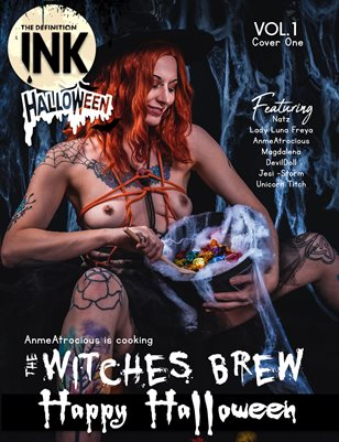 TDM:INK : Anme Atrocious Halloween 2020 Vol.1 Cover 1