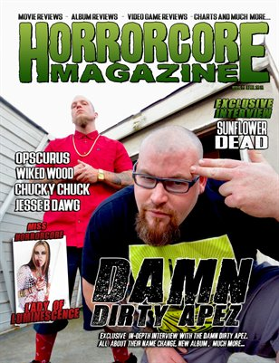 Issue 23 - Damn Dirty Apez & Sunflower Dead