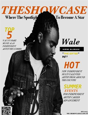 TheShowcase Magazine July 2013 Artist Edition