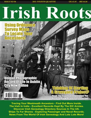 Irish Roots Magazine - Issue No 88