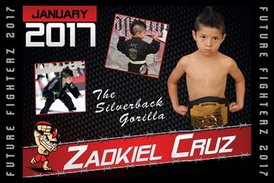 Zadkiel Cruz Cal Poster 2017