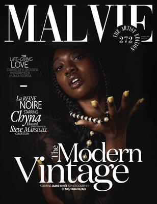 MALVIE Magazine The Artist Edition Vol 272 August 2021