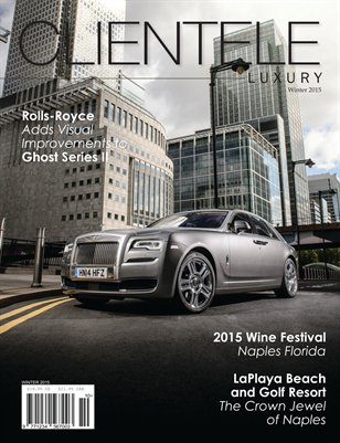Clientele Luxury Winter 2015  Rolls-Royce Cover