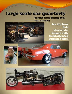 Large scale car quarterly