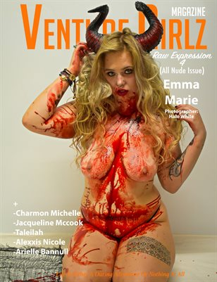 Venture Girlz Magazine Raw Expression 4 Feat. Emma Marie