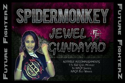 Jewel THE SPIDERMONKEY Gundayao Poster