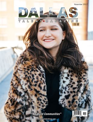 Dallas Talent Magazine November 2017 Edition