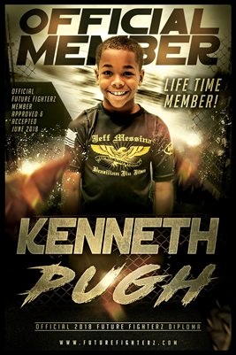 Kenneth Pugh Gold Diploma Poster